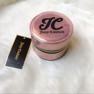 Juicy Couture Shimmery Pink Small Jewelry Box NWT